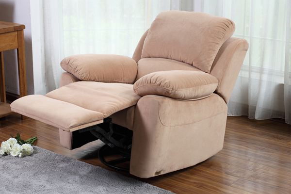 OK-RC8006 Fabric Armchair  Home Lounge Reclining Chair  Cinema & Gaming sofa