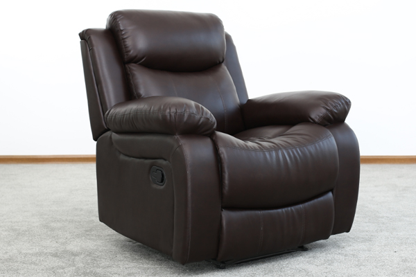 OK-RC8003 LEATHER RECLINING SOFA