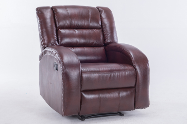 OK-RC8008 LEATHER FINISHING MANUAL leather RECLINER