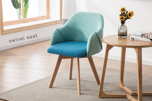 how to clean fabric chairs at home