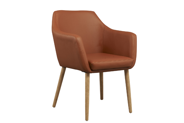 OK-OUZL1043 leather high end dining chair