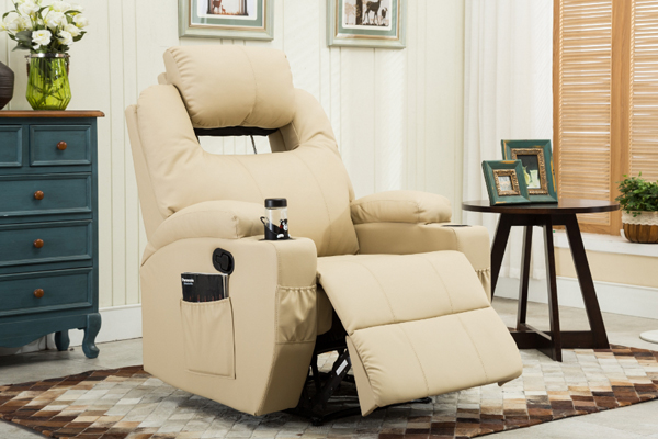 OK-8004A adjustable backrest recliner classic design