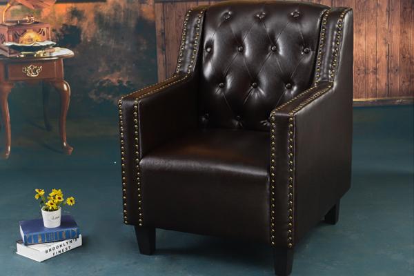 OK-EU015 antique designed single sofa,classic model for your memories