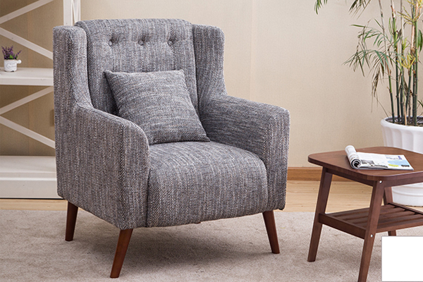 OK-OUZL009 fabric single European sofa