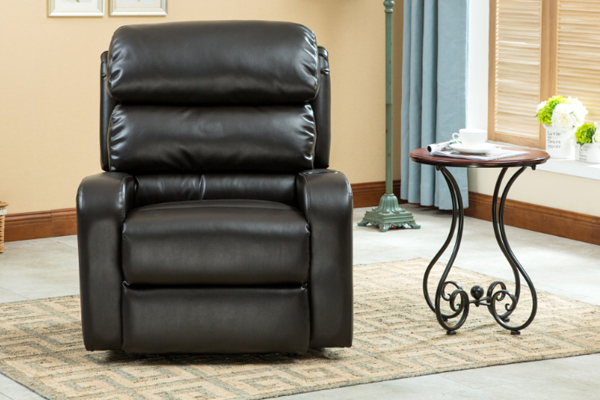 OK-RC8021 Good designed recliner with bonded leather