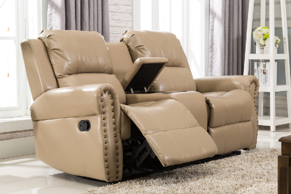 OK-8001 DOUBLE SOFA SET RECLINER LIVING ROOM SET
