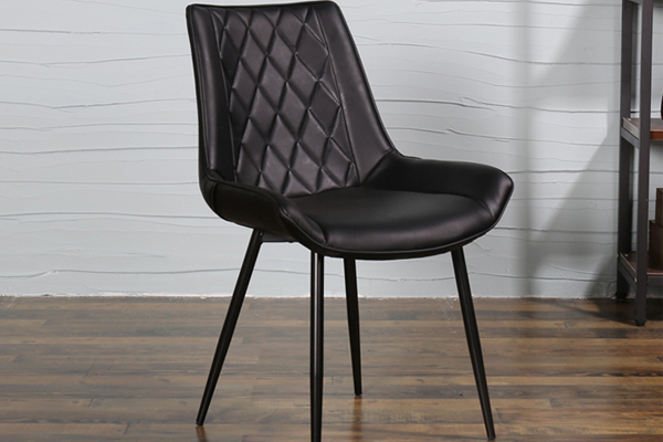 OK-OUZL1033 Contemporary styleMetal legs dining chair popular designed dining chair