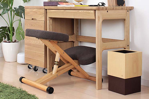 ok-k003 beech wood construction adjustable kneeling chair