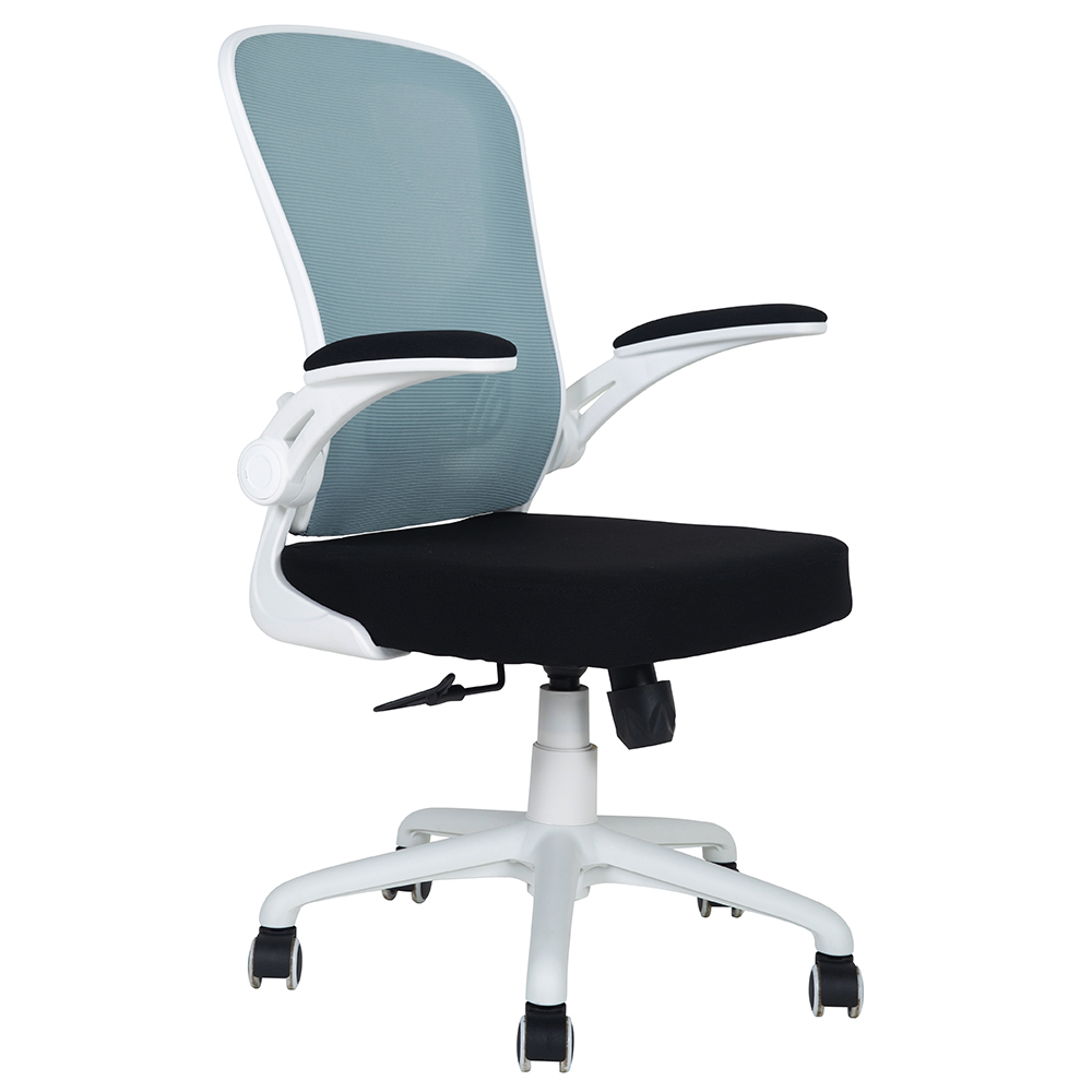 White ergonomic mesh desk chair