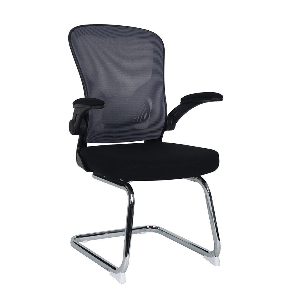 Accurate metal tube conference room chair